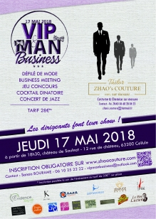 Affiche VIP MAN Business 2018